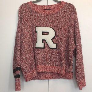 "Rag & Bone Varsity ""R"" Sweater"